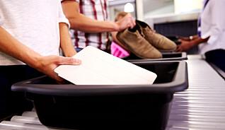 Du må selv passe på bagasjen din i sikkerhetskontrollen