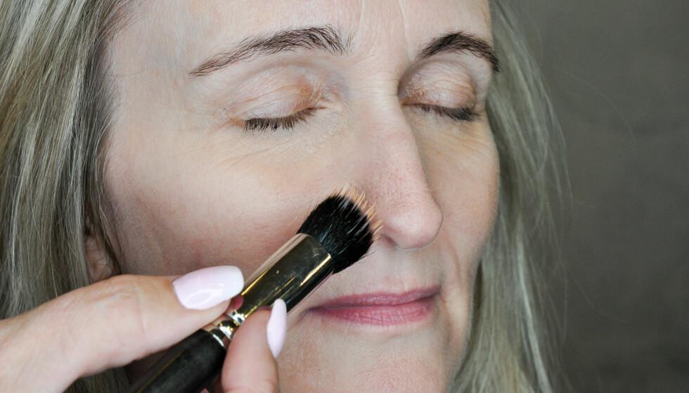 SKJULE UJEVNHETER: Conceiler er ideelt for å dekke til uregelmessigheter i huden. Foto: Jartrud Høstmælingen