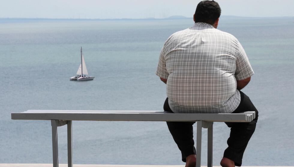OVERVEKT: For noen er ikke overvekt et problem, mens det for andre kan medføre betydelige helseproblemer. Foto: Shutterstock