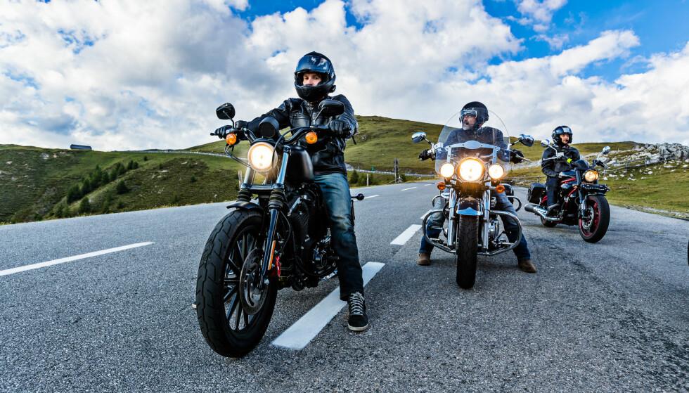MOTORSYKKEL: Her kommer prisen an på hvilken sykkel du skal ha. Foto: Shutterstock
