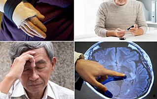 Her er de vanligste sykdommene som rammer eldre