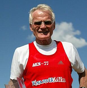 YDMYK: Helge Seehus Brekke føler seg ydmyk over alle utmerkelsene han har mottatt gjennom årenes løp. Foto: Privat.