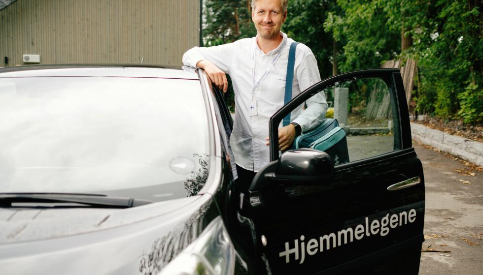 Nicolai Skarsgård, daglig leder i Hjemmelegene. Foto: Åsmund Holien-Mo.