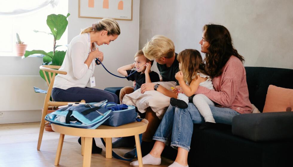 HJEMMELEGENE: Den nye tjenesten vil besøke pasientene hjemme. Foto: Åsmund Holien-Mo.