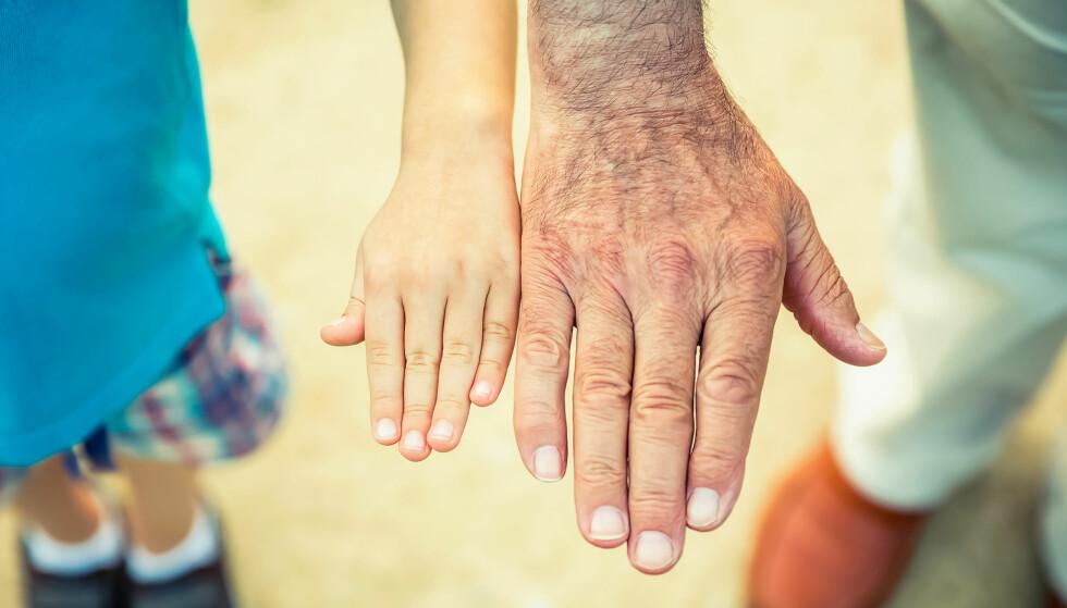 ALDRING: Det er skremmende å se at folk skylder på alderen, mener lege. Foto: Shutterstock