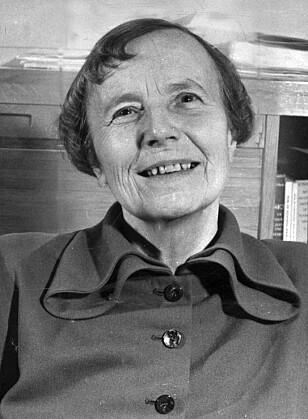 «UANSVARLIG»: Elise Ottesen-Jensen møtte lite motstand i Sverige, men biskop Bo Giertz var kritisk. Foto: NTB scanpix