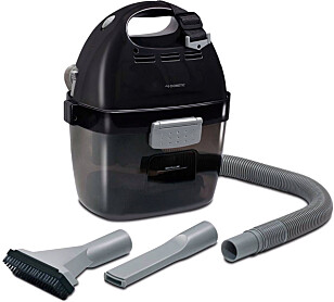 Støvsuger: Oppladbar støvsuger som suger både vått og tørt. Foto: produsenten