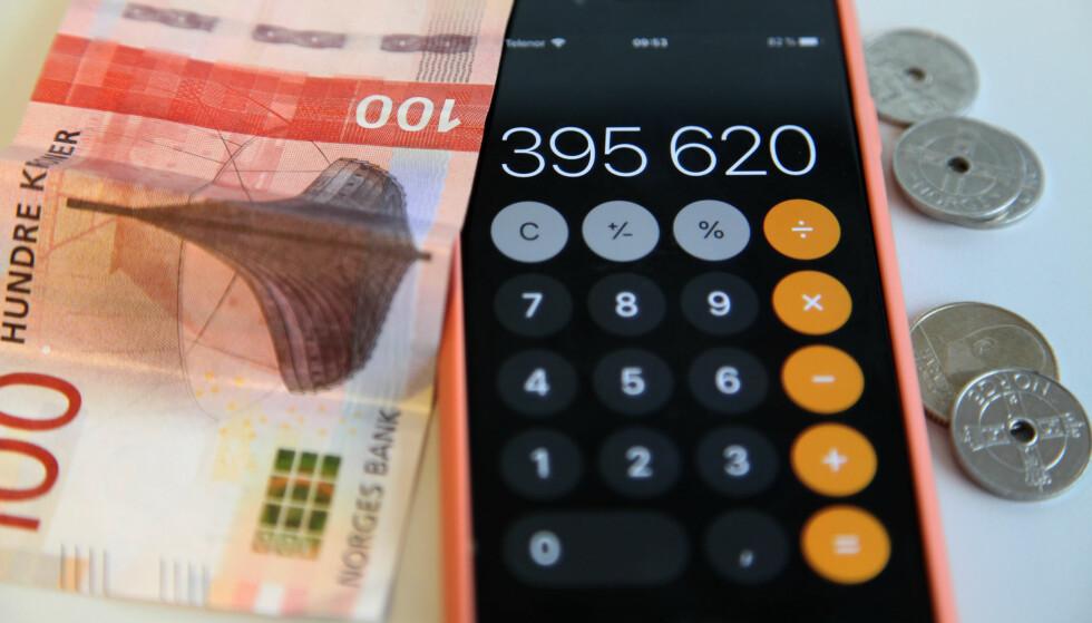 REGN UT PENSJONEN: For å få oversikt over pensjonen din kan du bruke en kalkulator på nett, men beløpene varierer. Foto: Lisa Wisløff