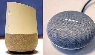 Slik setter du opp smarthøyttaleren Google Home