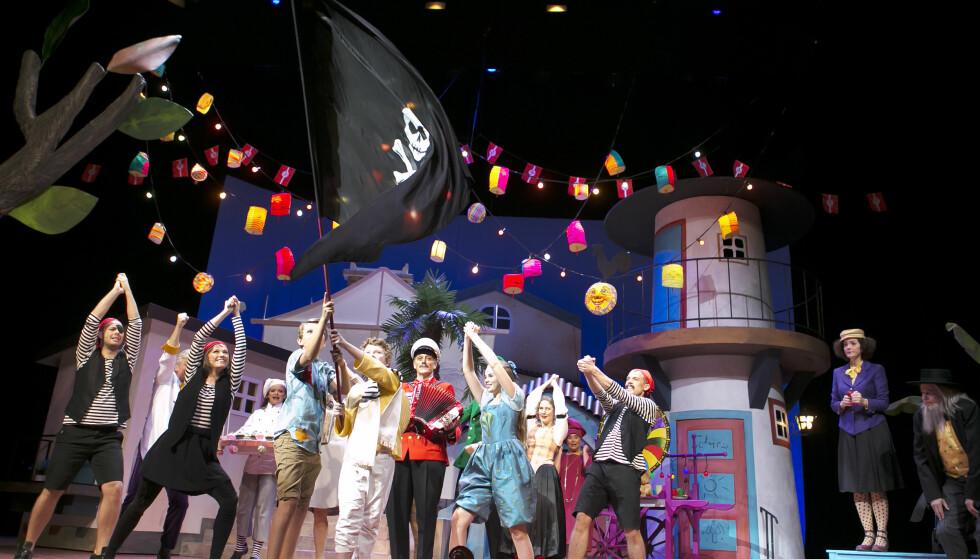 BARNETEATER: Kanskje du vil ta med barnebarna på teater? Foto: NTB Scanpix