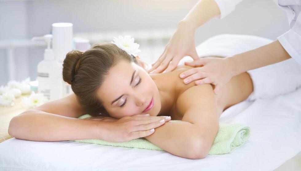 SPA: Behandling på spa er det flere som ønsker å gi til kona. Foto: Shutterstock