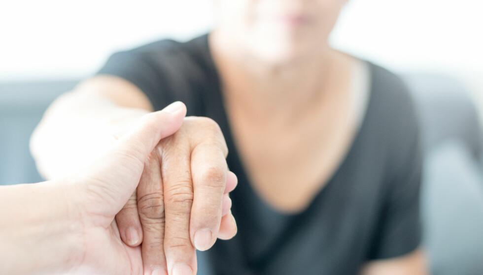 DEMENS: Alzheimer er bare en av over hundre sykdommer som omtales som demens. Foto: Shutterstock