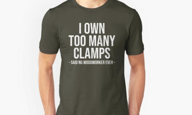 T-skjorte med sitat. 153 kroner, redbubble.com. Foto: Produsenten