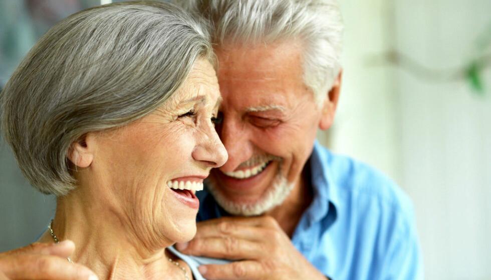 Forelskelse kjenner ingen aldersgrense selv om omstendighetene ofte er annerledes fra da man var yngre. Foto: Shutterstock