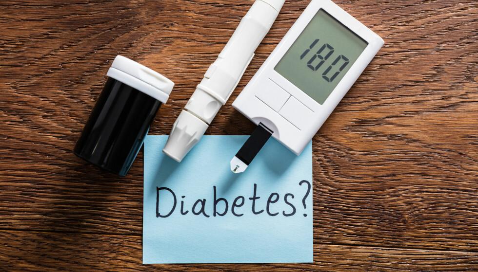 MÅL BLODSUKKERET: Diabetes øker risikoen for hjerte- og karsykdommer, og bør derfor oppdages tidlig. Foto: Shutterstock