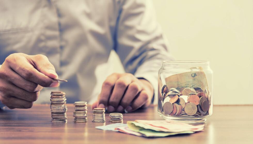 TRE DELER: Pensjonen din består av tre deler; Pensjon fra arbeidsgiver (tjenestepensjon), folketrygd (fra staten) og oppsparte midler. Foto: Shutterstock