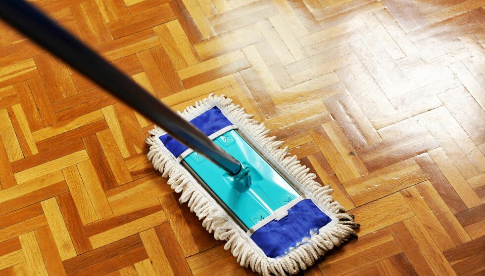 HUSVASK: En real husvask kan gjøre at både svetten pipler og at pulsen øker. Foto: Shutterstock