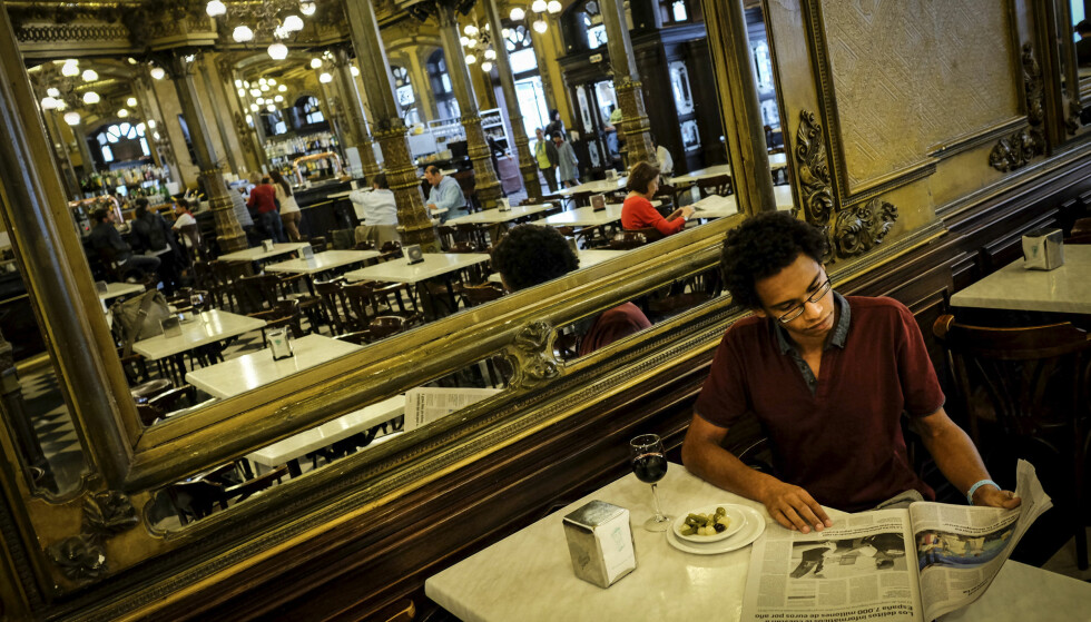 FREDELIG: Lær deg å sette pris på opplevelsen av å spise alene. FOTO: Axel Munthe-Kaas Hærland