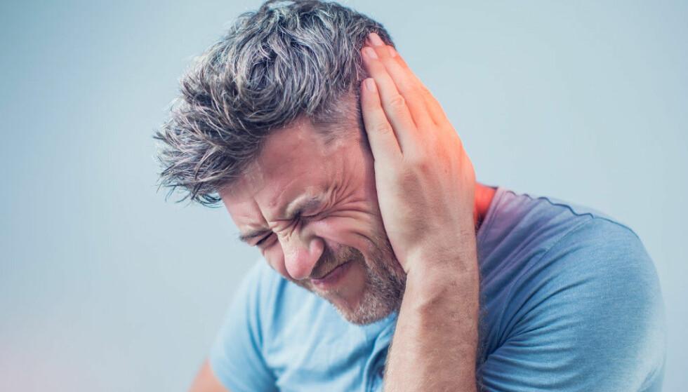 TINNITUS: Øresus kan oppstå akutt, men varer det i mer enn tre måneder er sjansen stor for at det er noe du må leve med resten av livet. Foto: NTB Scanpix