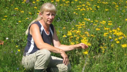 BOTANIKER: Kristina Bjureke har fem planteanbefalinger til det norske folk. Foto: Privat.