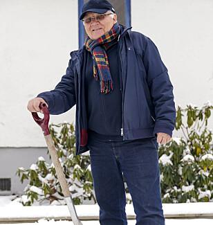 TA TAK: Å drive med ting, hjelpe andre og bli kjent i nærmiljøet er gull verdt, mener Leif Røsrud. FOTO: Cornelius Poppe, NTB Scanpix