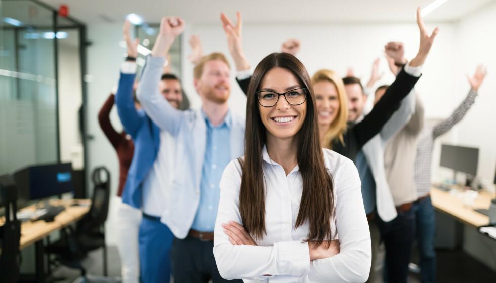GRUNDER: Å lufte ideen din for andre og sjekke etterspørsel i markedet er viktige ting å tenke på når du vil starte eget firma. Foto: Shutterstock