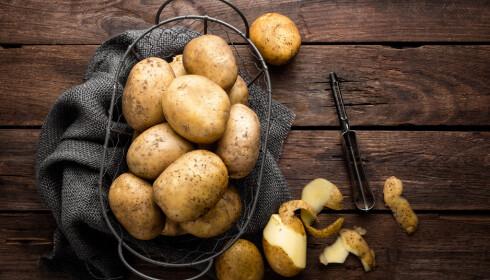 VIKTIGSTE MATEN: Poteten var det viktigste vi hadde å spise under andre verdenskrig. Foto: Sea Wave / Shutterstock / NTB scanpix.