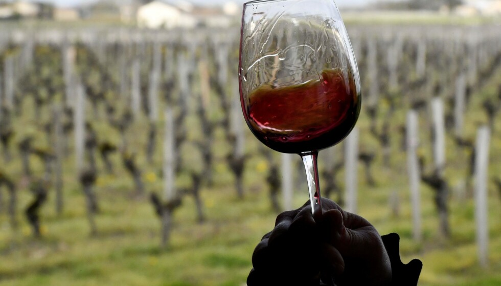 DE BESTE VINREISENE: Vinekspertene har flere anbefalinger for deg som vil på vintur. Her ser du rødvin fra Bordeaux. Foto: NTB Scanpix