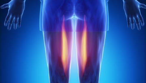 SKRUBBES VEKK: Når den øverste huden skrubbes vekk blir nervene mer eksponerte: NTB Scanpix.