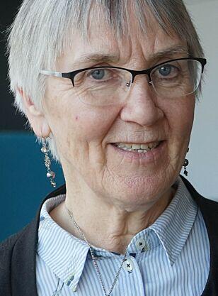 RISIKOGRUPPE: - Lite aktive eldre er en utsatt gruppe, sier sykehjemsoverlege Kjellaug Enoksen.