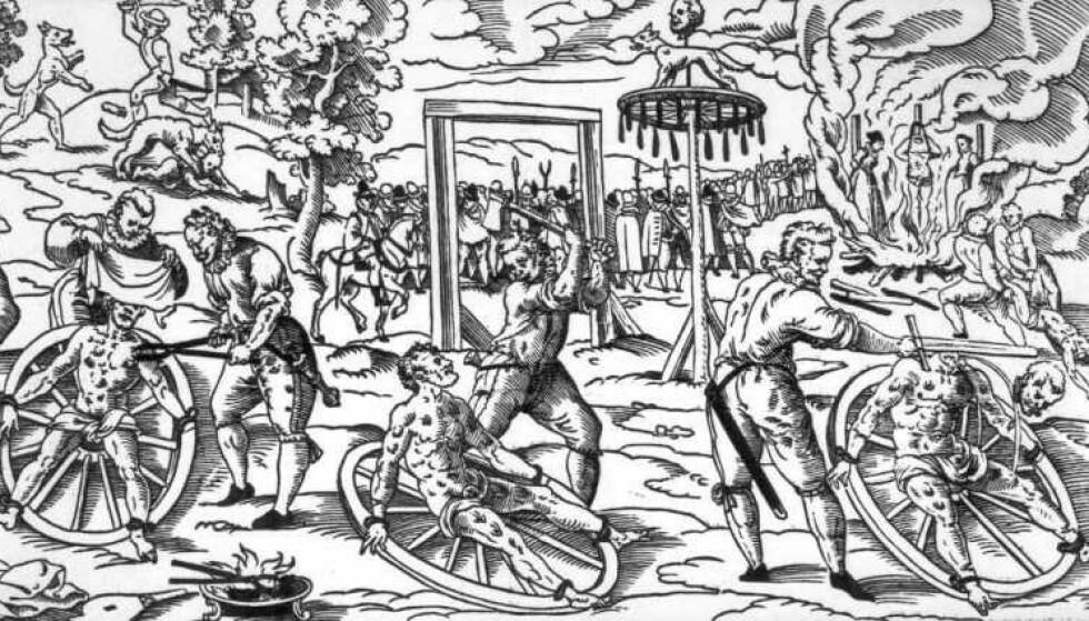 TORTUR OG DRAP: Alle visste hvem skarpretteren var i den enkelte by. Ingen av dem hadde et spesielt godt rykte. Foto: Wikipedia