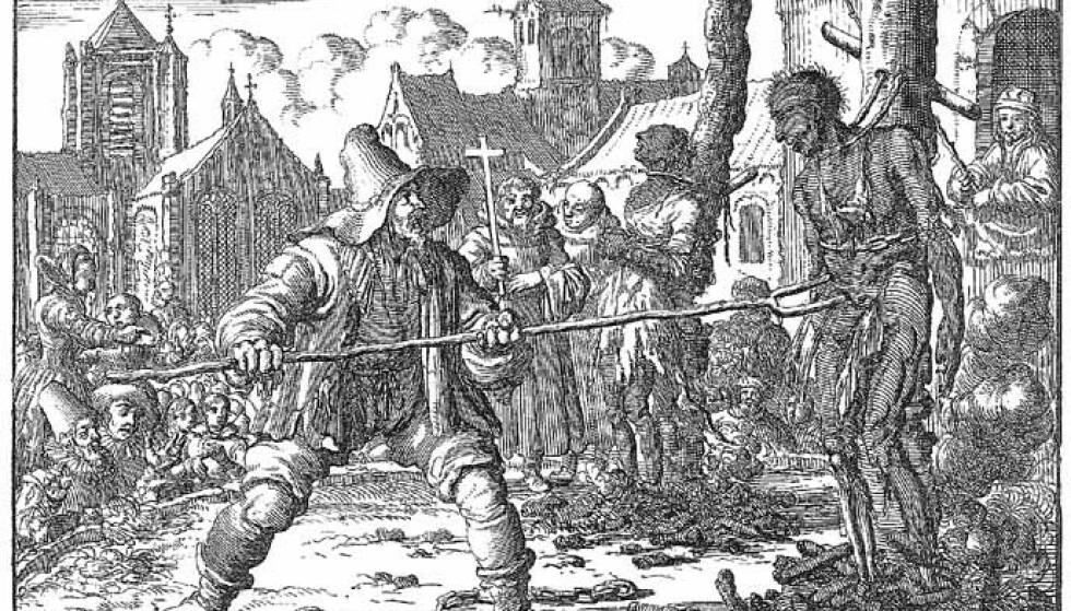 BØDDEL-DYNASTI: På 1700-tallet var alle bødler i Norge fra Trondheim og sørover, Danmark ned til Hamburg, Nord-Tyskland og Sør-Sverige i slekt med hverandre – det var dynastier av skarprettere som giftet seg med hverandres døtre, enker og utgjorde en eneste stor familie. Foto: Wikipedia.