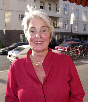 - JUBELPERIODE: Tidligere filmdirektør Ingeborg Moræus Hanssen (80) mener at man kan være i sin beste alder i 60-årene. Foto: Thomas Bjørnflaten/ NTB Scanpix.