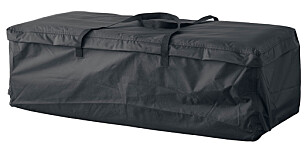 Putebag: TOSTERÖ Bag til puter, svart, 116x49 cm: kr 229,ikea Foto: Produsenten