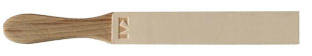 LÆRSTROPP: En slik lærstropp settes gjerne inn med slipepasta. Da får du et utmerket verktøy når kniven skal skjerpes. Foto: Produsenten