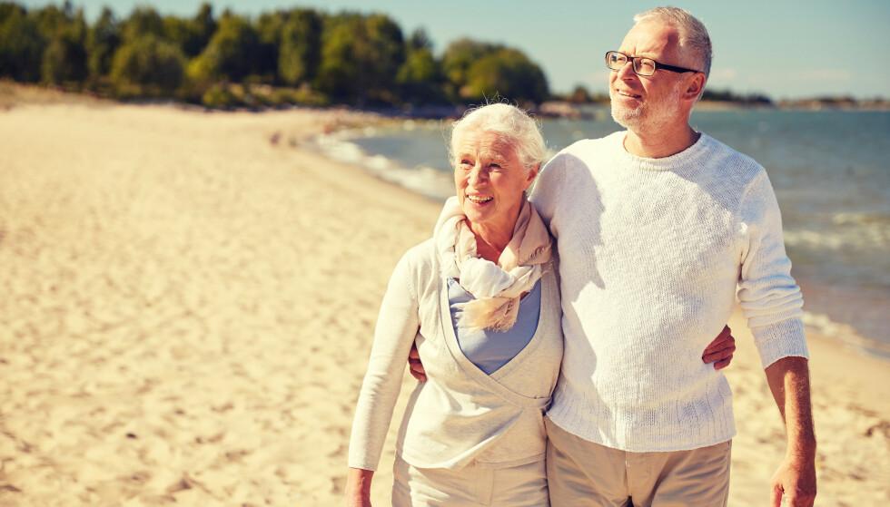 EKSEN KAN FÅ PENGER: Eksen din kan ha rett på pensjonen din når du dør. Foto: Shutterstock / NTB scanpix
