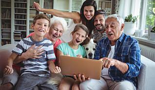 Nesten alle eldre bruker internett
