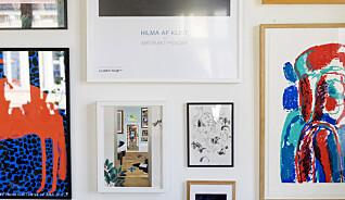 11 tips som gjør veggen din til et galleri