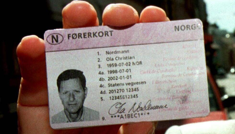 KUN 18 STYKKER: Det er kun 18 personer i Norge som har geografisk begrensning på førerkortet. Foto: NTB scanpix.