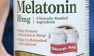 ØKENDE FORBRUK: Det reseptbelagte hormonet melatonin regulerer døgnrytmen, og er et populært sovemiddel for mange nordmenn. FOTO: Science Photo Library / NTB Scanpix.