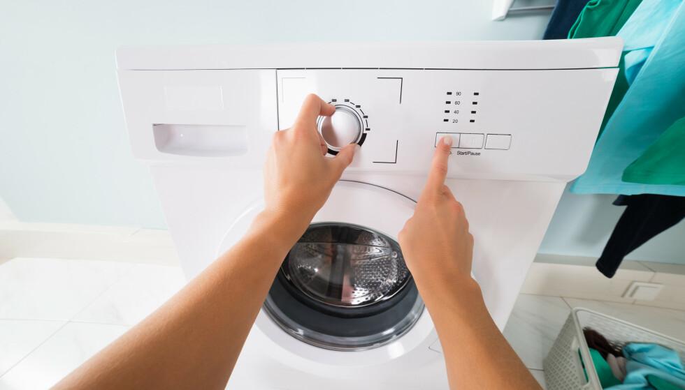 VIDUNDERMASKIN: Vaskemaskinen sies å være blant verdens mest tidsbesparende oppfinnelser. Foto: NTB scanpix/Shutterstock