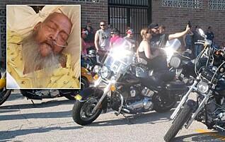 Alt Jon (61) ville, var å høre lyden av motorsykler en siste gang