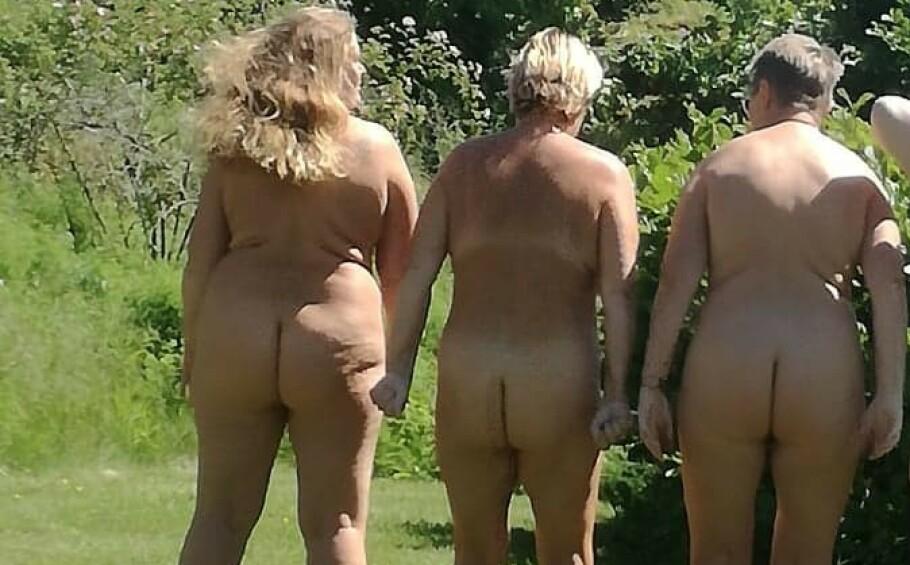 HVA ER LOV? Det er faktisk lov å være naken de fleste stedene i Norge, men det er enkelte ting du må passe på. Foto: Mona Ringsrød.