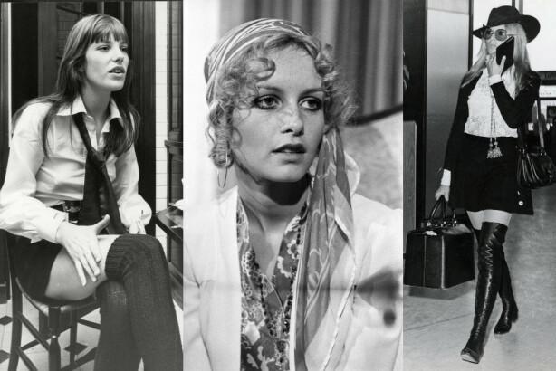 FORTSATT STILIKONER: 60-tallets Jane, Twiggy og Brigitte var utvilsomt tre tøffe damer som kunne sklidd rett inn i dagens trendbilde. Foto: Stevens/ANL/Sal Traina/Penske Media/Araldo Di Crollalanza/REX/NTB Scanpix.
