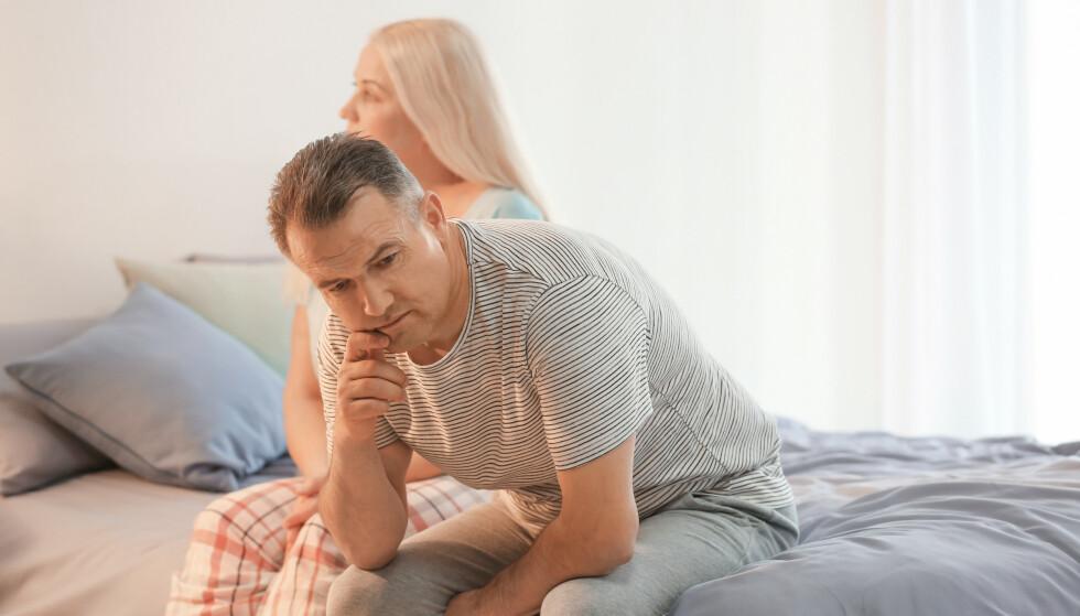 NÅR DET IKKE GÅR: Det går en grense for alle når det gjelder hvor store problemer man klarer å takle i et forhold. Av og til finnes det ingen annen utvei enn å bryte fra hverandre. Foto: NTB Scanpix.