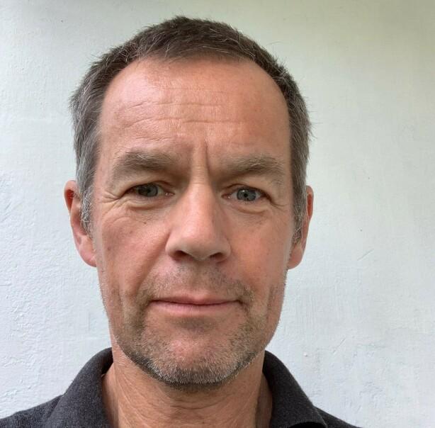 HELDIG: Morten Lund-Johansen forteller at George var ufattelig heldig med hvor kulen gikk i hjernen. Foto: Privat.