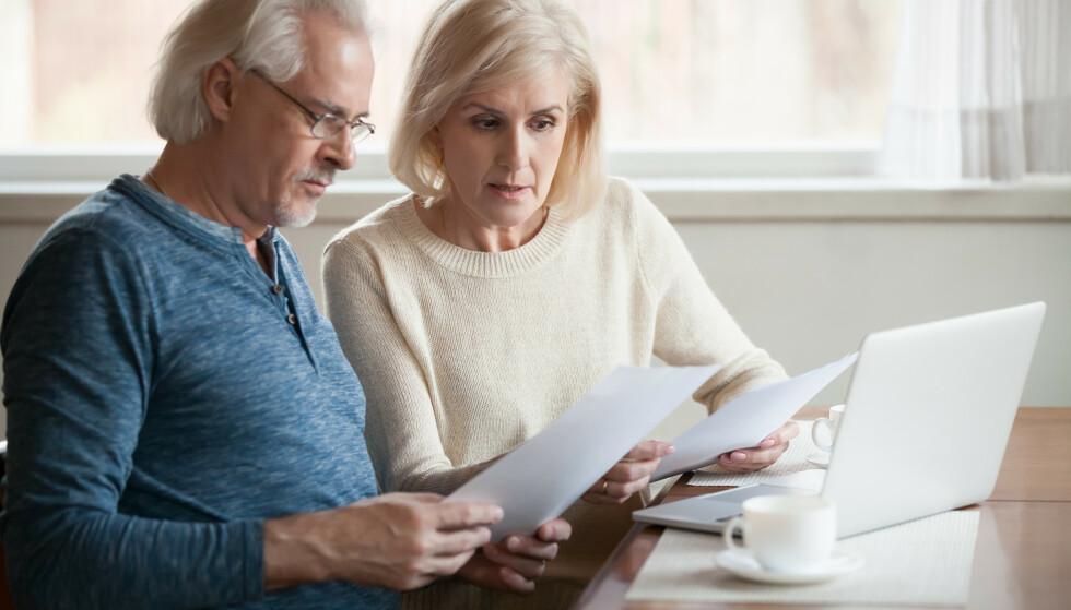 Det kan skape stor usikkerhet å ikke klare å betale gjelden sin. Vær sikker på at du kan betjene lånet før du tar forbrukslån. Foto: NTB scanpix