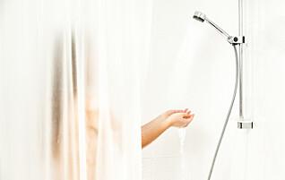 Ingen vet hvorfor dette skjer i dusjen