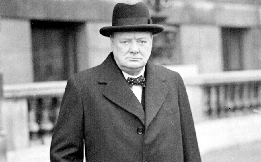 TIDENES FØRSTE OMG? Mottok Winston Churchill tidenes første OMG? Foto: NTB Scanpix.