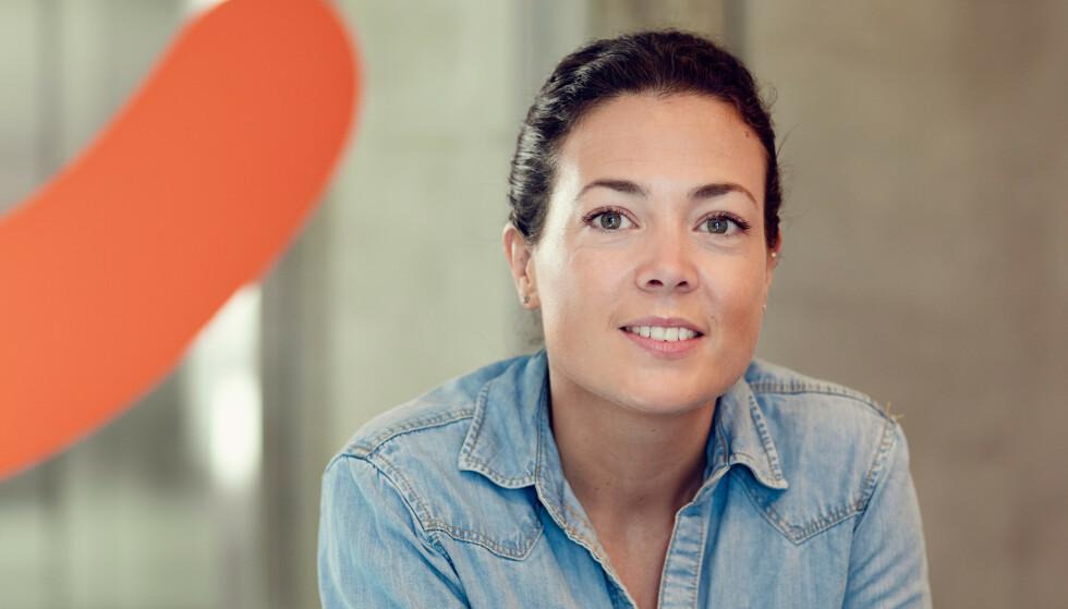 KAN BLI LEST: Hanne Kjærnes forteller at meldingene du skriver inn kan bli lest i visse tilfeller. Foto: Vipps.